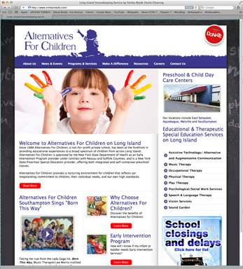 Alternatives for Children Website