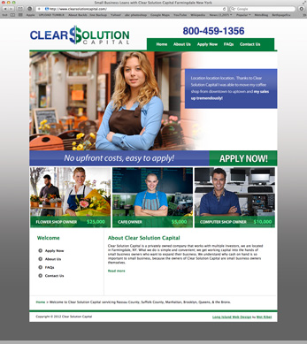 Long Island Small Business Website Design