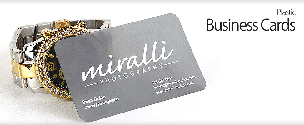 Custom business card design business card designer on long plastic business cards for long island wedding photography studio reheart Image collections