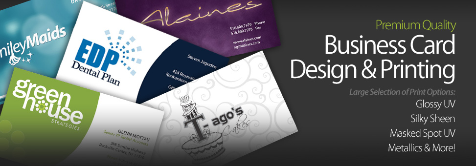 Long Island Business Card Design Print Company