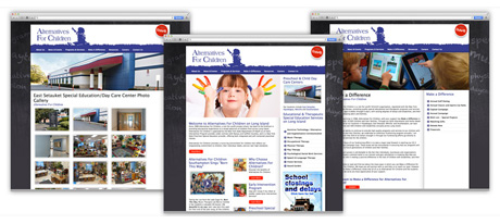 Website Design for Schools Long Island New York