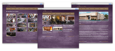 Website Design for restaurants Long Island New York