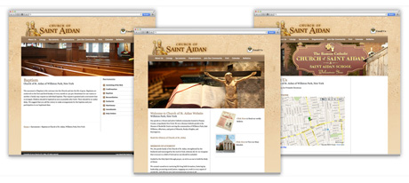Website Design for Churches on Long Island New York
