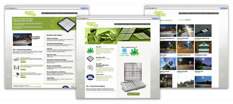Website Design for Lighting Company Long Island New York