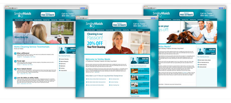 Website Design for cleaning companies Long Island New York