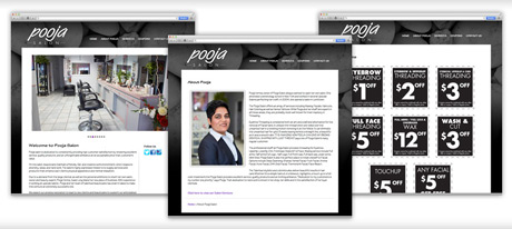 Website Design for Salons on Long Island New York