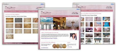 Website Design for Painters on Long Island New York
